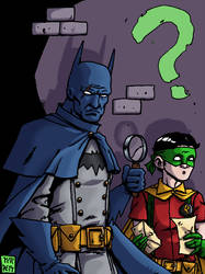 The Case of The Unsolvable E Nygma - Colored