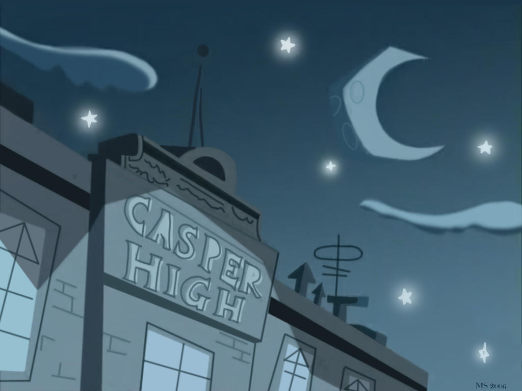 Casper High Wallpaper by musicalluna