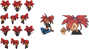 Flannery Sprites by Cradman