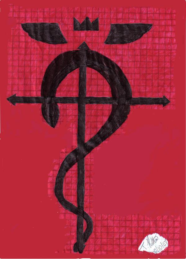 Fullmetal Alchemist Symbol By Kakashigirl1020 On Deviantart