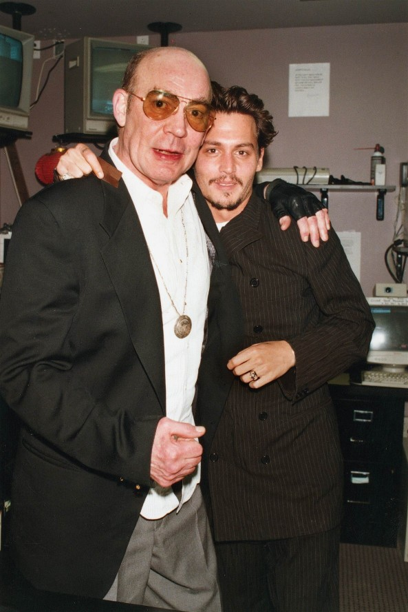 Johnny Depp and Hunter Thompson by ChowFanGirl12