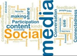 The Social Media Word Cloud by ChowFanGirl12