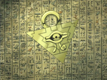 The Millennium Puzzle And Egyptian Hieroglyphs By ChowFanGirl12