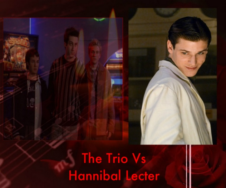 The Trio Vs Hannibal Lecter by ChowFanGirl12