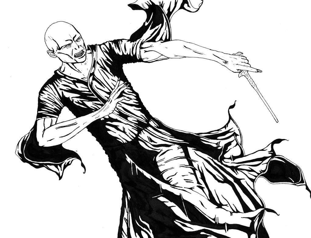 voldemort coloring pages - photo#31
