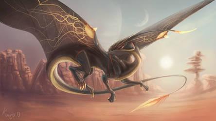 Alien dragon.