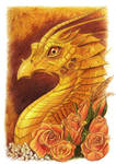 Yellow Dragon Doodle.