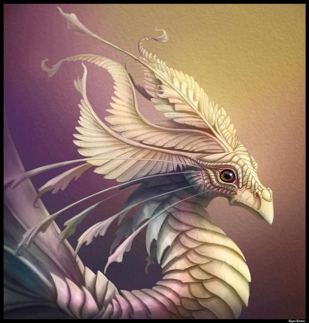Mother of Pearl Dragon.