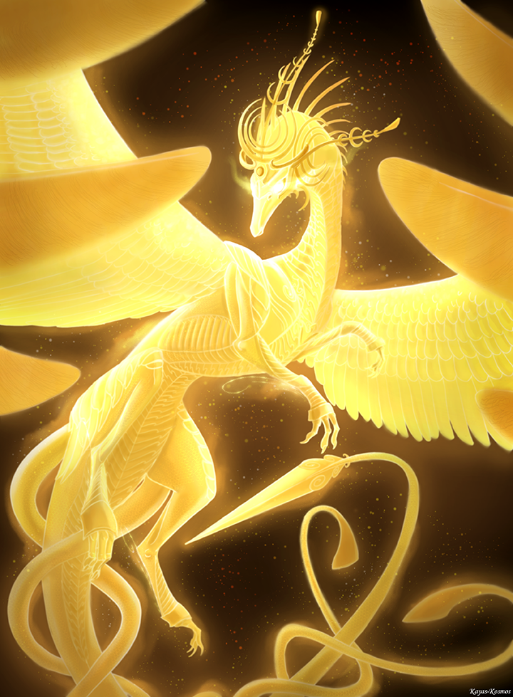 Overwatch - Ziegler Spirit Dragon. by Kayas-Kosmos