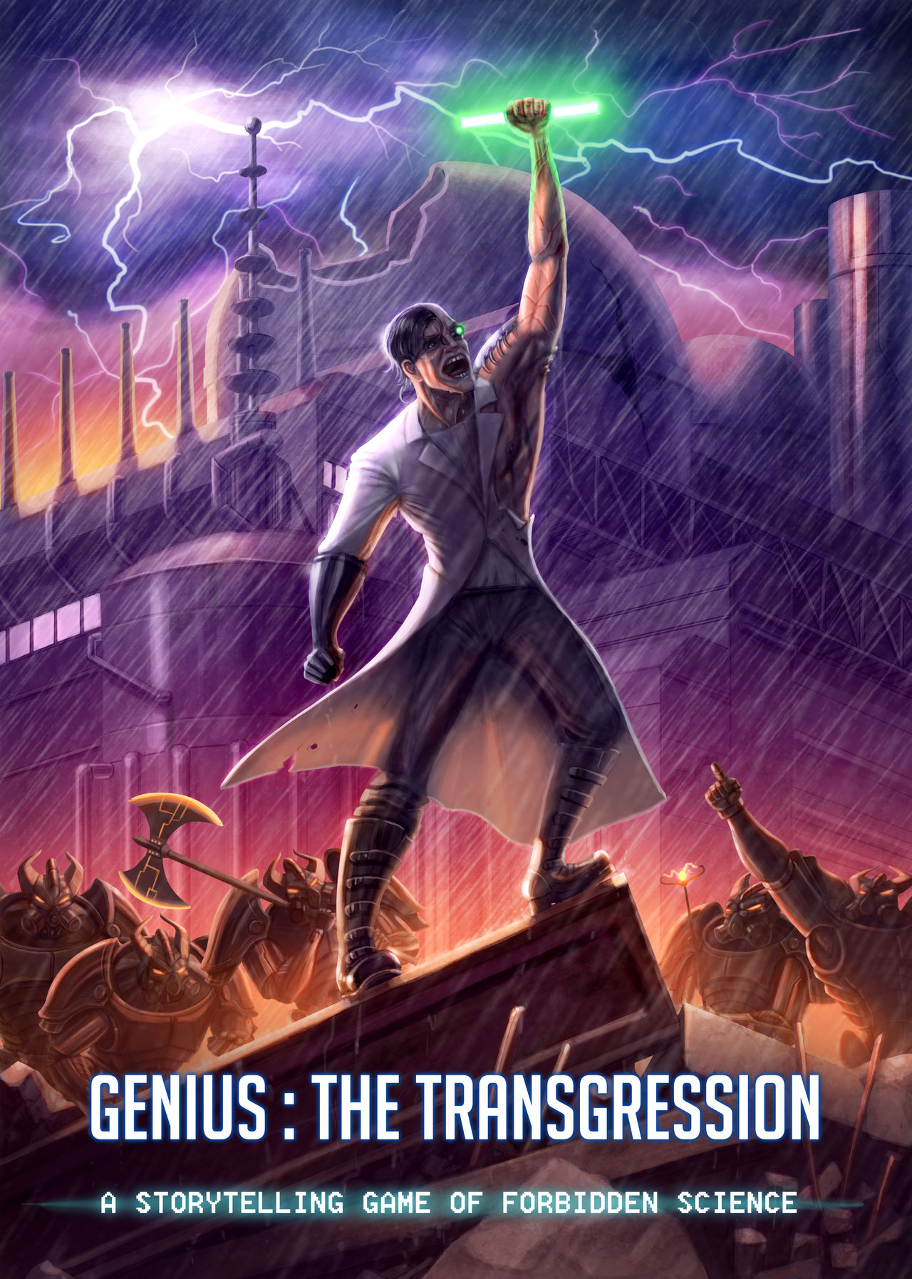 Cm Genius The Transgression By Kayas Kosmos On Deviantart