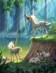 Whistling Unicorns. by Kayas-Kosmos