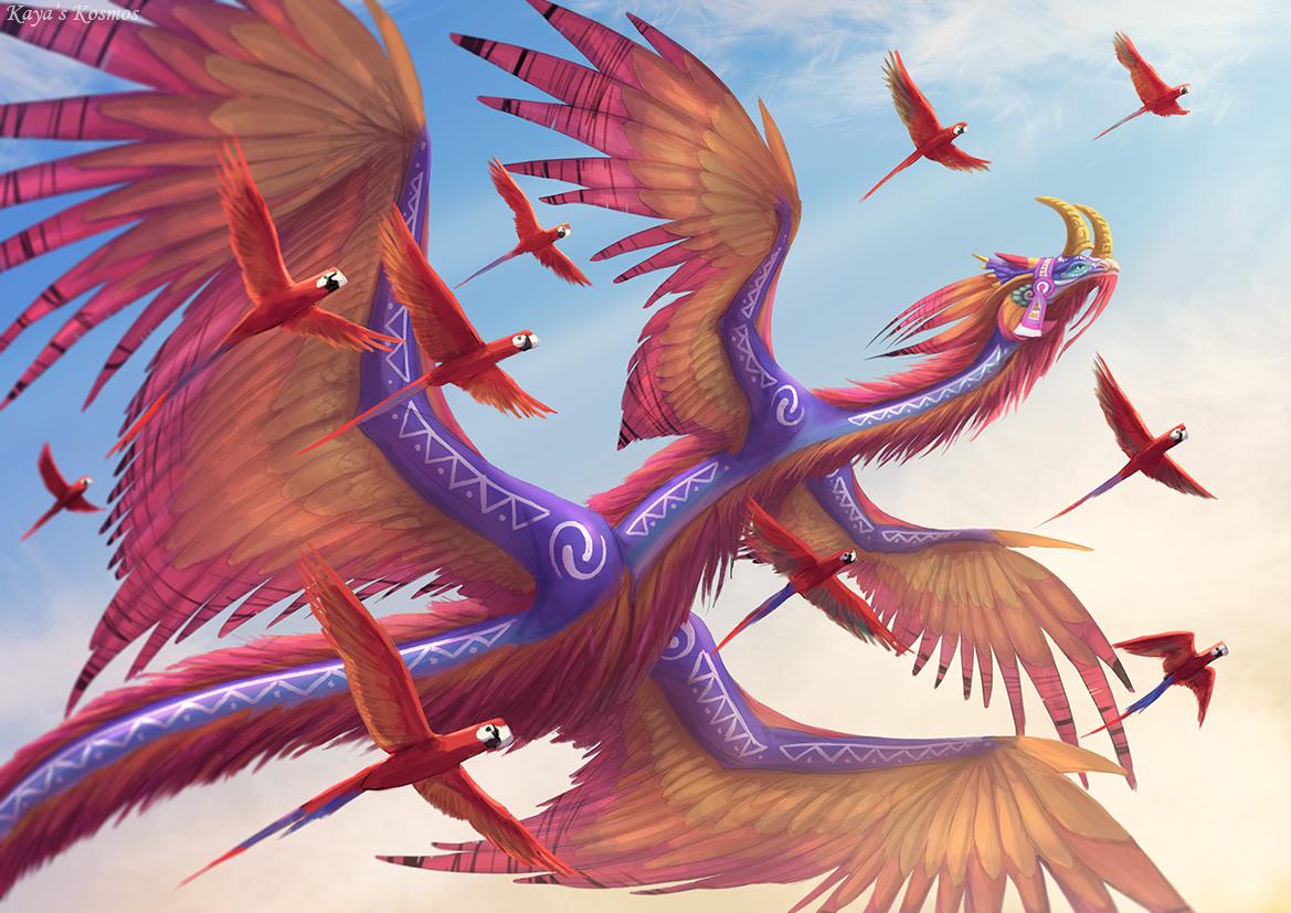 CM - Quetzalcoatl.