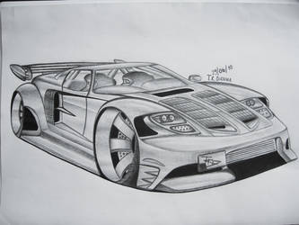 Ford GT Extreme by tkDDesign