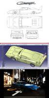 Dodge Charger Daytona 3D