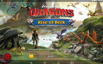 Dreamsworks Dragons Rise of Berk game