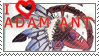 Adam ant stamp by Chill-morte