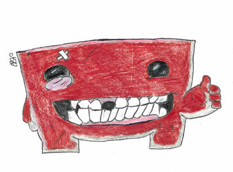 Meat Boy by SewedCodeMode