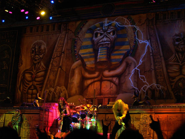 iron maiden powerslave 2008 by miguellecarre on deviantart