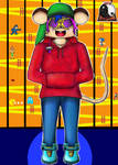 Gamer Mouse : Eliot Cheesgood by Sen-Draw