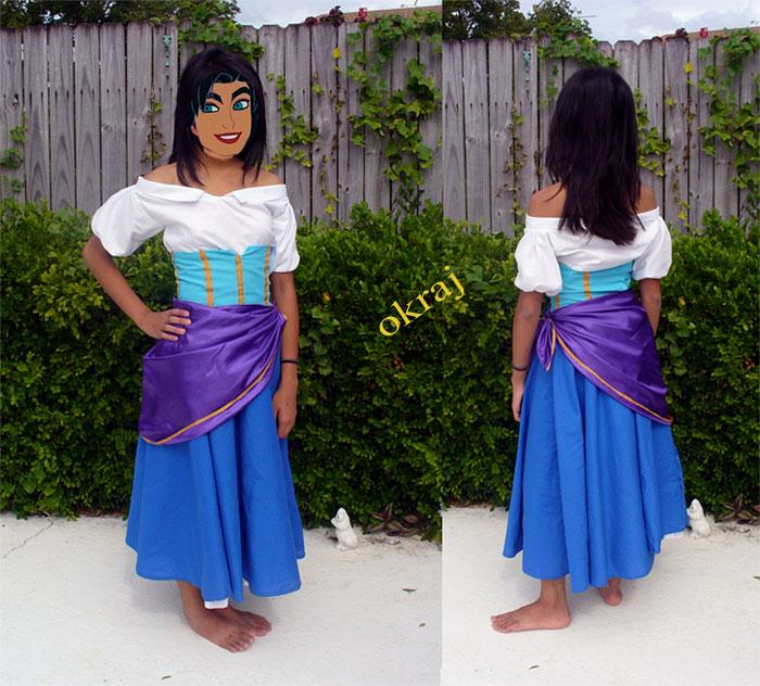Costume Halloween Esmeralda.Esmeralda Costume Diy Meeting Quasimodo And Esmeralda