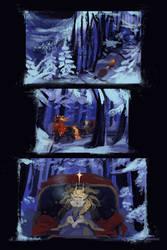 Through the Frozen Pines