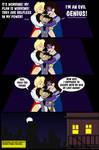 Power Girl and Huntress VS Kitten-Man 5