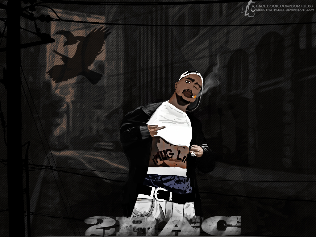 2pac wallpaper by mesutruthless on deviantart 2pac wallpaper by mesutruthless altavistaventures Image collections