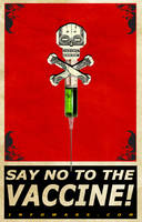 Say no to the vaccine by Ade5