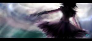 Away from sky by Omiza-Zu