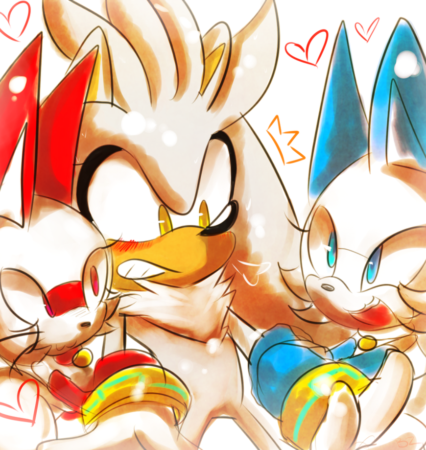 Silver's Friendship. by Zubwayori