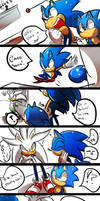 Sonic generations - Meets Silver Boss