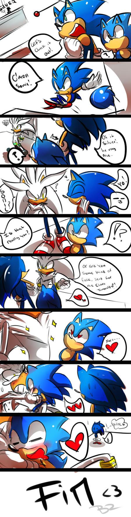Sonic generations - Meets Silver Boss by Zubwayori