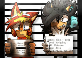 Mugsshots Linny and Icebo by Omiza-Zu
