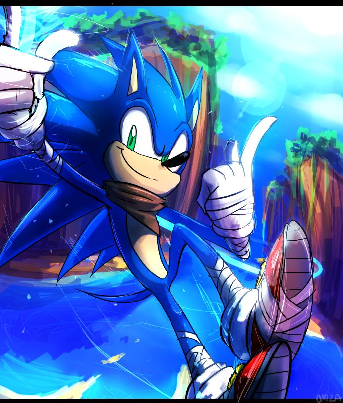 Sonic Boom Sonic The Hedgehog By Omiza Zu On Deviantart