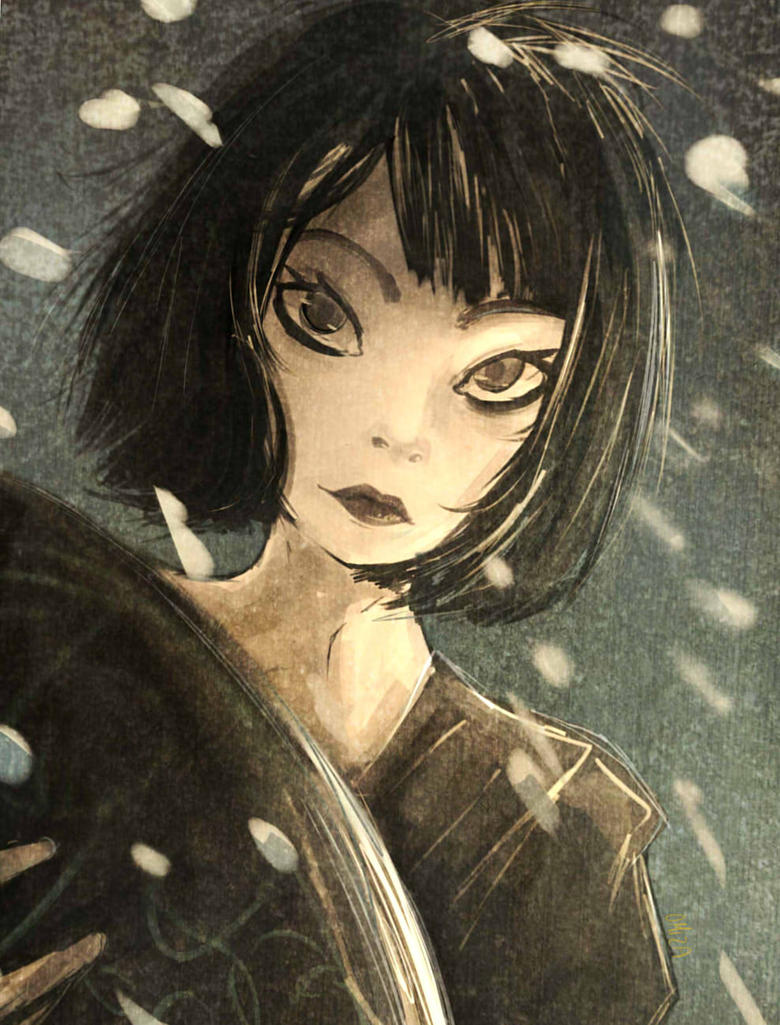 Japan Girl - Art Class by Zubwayori