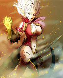 Fairy Tail: Mirajane Strauss by Omiza-Zu