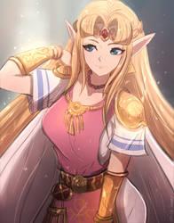 Zelda by Omiza-Zu