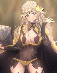 Ophelia from Fire Emblem by Omiza-Zu
