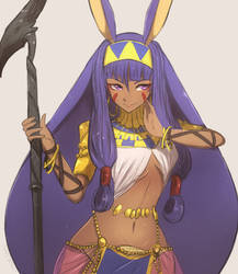 Fate Grand Order Caster Nitocris by Omiza-Zu