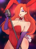 Jessica Rabbit by Omiza-Zu