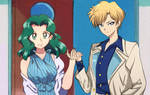 Redraw Sailor Moon: Haruka and Michiru