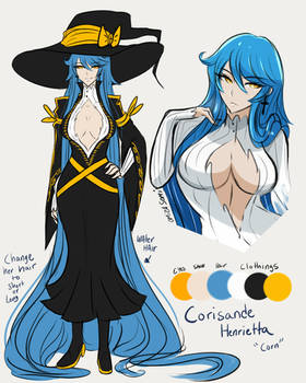 OC: Corisande Henrietta