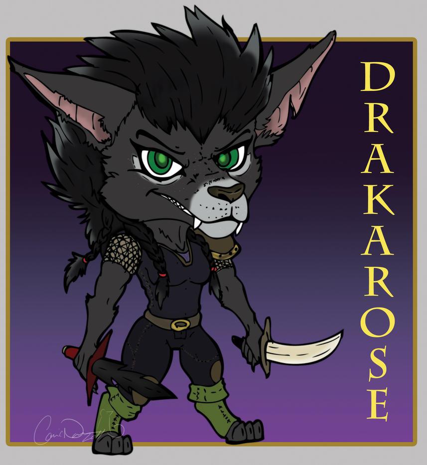 Drakarose The Worgen Rogue By StarNob On DeviantArt