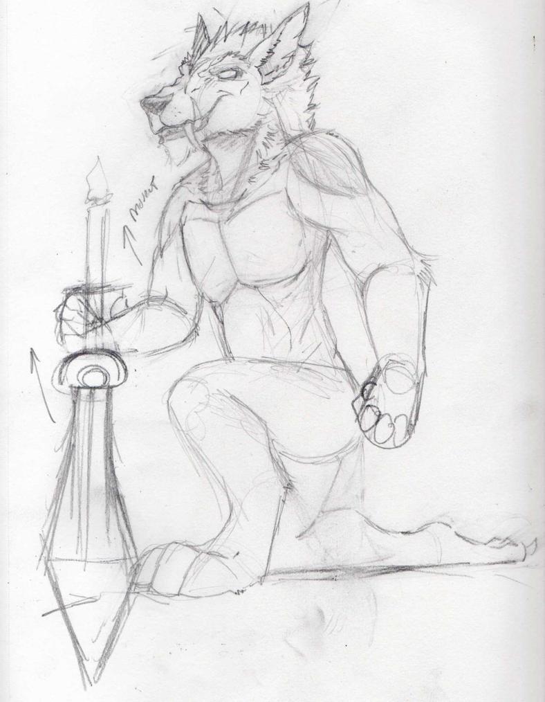 ShywolfSketch 2014 by StarNob