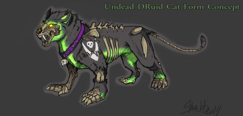 Undead Feral Druid Cat