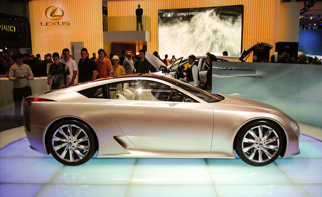 IAA 2005 - Lexus LF-A Concept by khokaz on DeviantArt