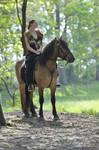 horse and female