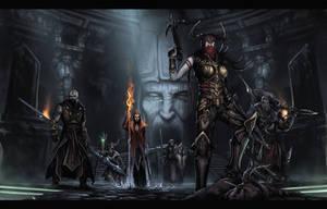 Diablo 3 Heroes by AlvaroSanJuan