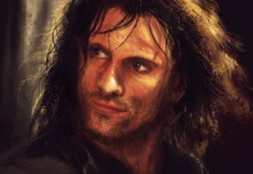 Aragorn by AlvaroSanJuan