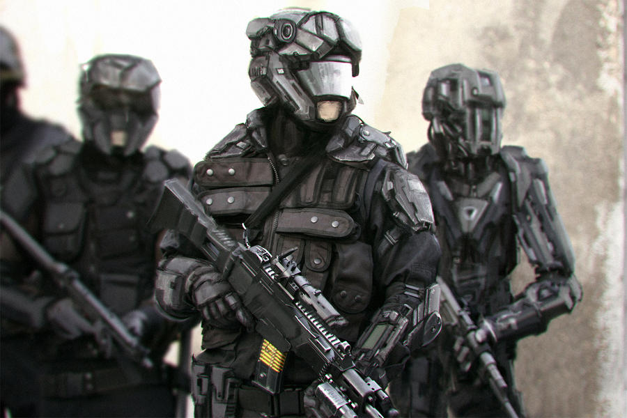 Special Forces By Alvarosanjuan On Deviantart